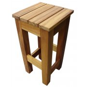 Iroko Dark Wood End Table TF