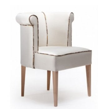 Jell Patterned Upholstered Chair