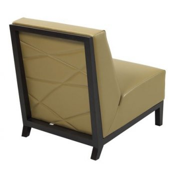 Kaly Dark Upholstered Maple Chair