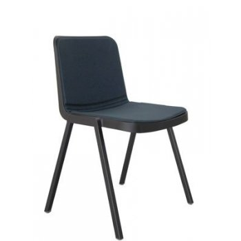 Koi Booki 370 stacking side chair - Soft PED