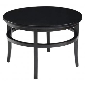 Lara Hall Dark Wood Circular Table CO99