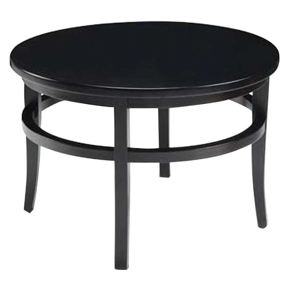 Lara Hall Dark Wood Circular Table Co99 From Ultimate Contract Uk