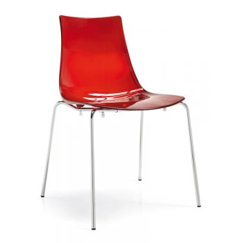 Led Crimson Side Chair G1298