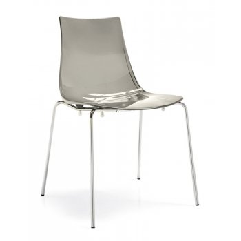 Led Silver Side Chair G1298