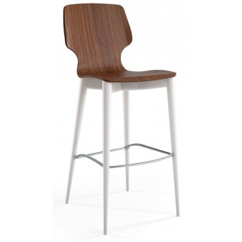 Light Brown Wood Barstool 158/BS