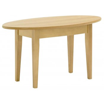 Light Wood Oblong Coffee Table 851