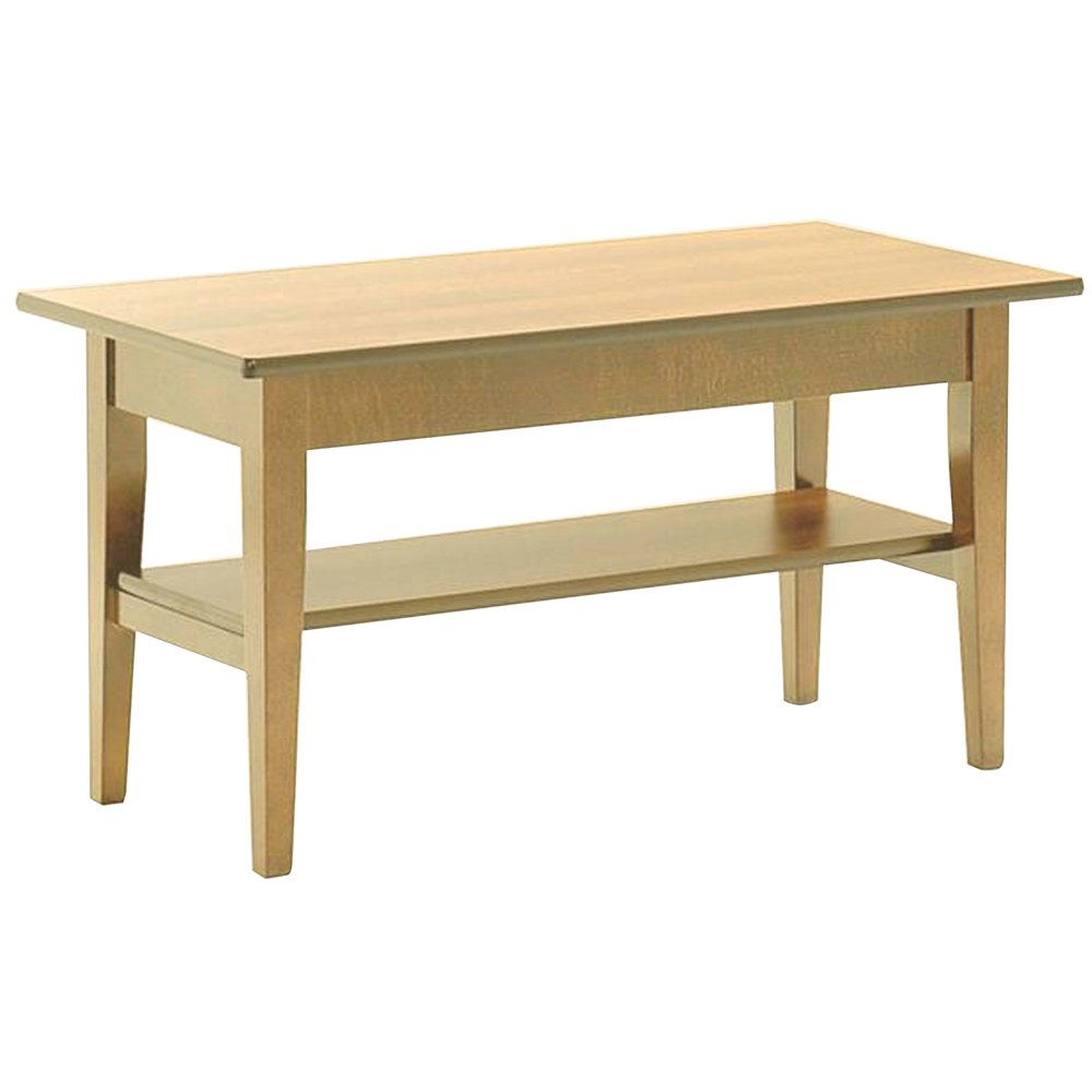 Light Wood Retangular Coffee Table 750 From Ultimate Contract Uk