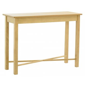 Light Wood Retangular Console 900