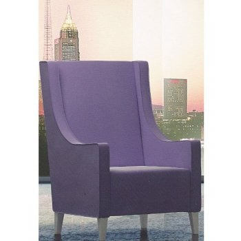 Lobby Upholstered Lounge Chair