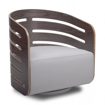 Lolla Dark Wood Tub Chair