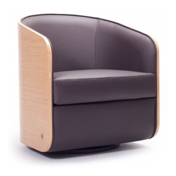 Lolla OP1 Light Wood Tub Chair