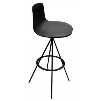 Lotus Dark Barstool