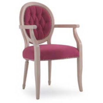 Louise P Light Wood Armchair
