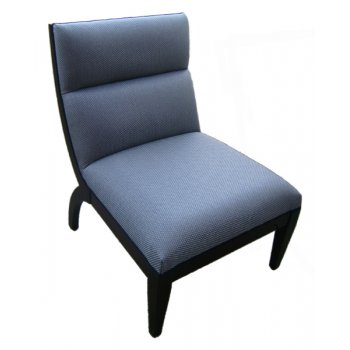 Luka Royal Blue Upholstered Chair