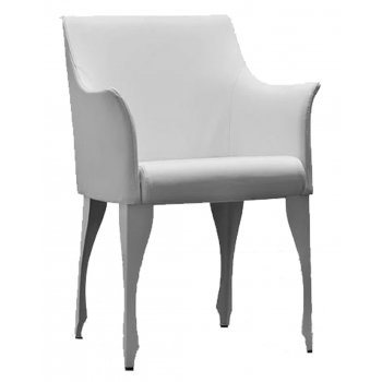 Madame Grand White Armchair