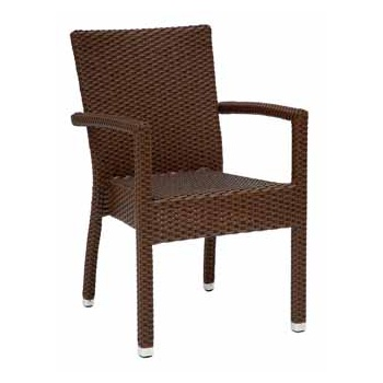 Mano Metal Frame Outdoor Chair