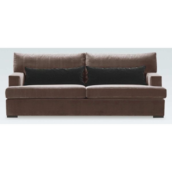 Marcel Light Brown Leather Sofa From Ultimate Contract Uk