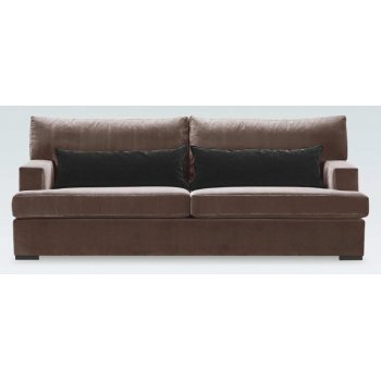 Marcel Light Brown Leather Sofa