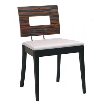 Masque Square Back Side Chair