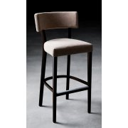 Miami Dark Wood Upholstered Barstool 401