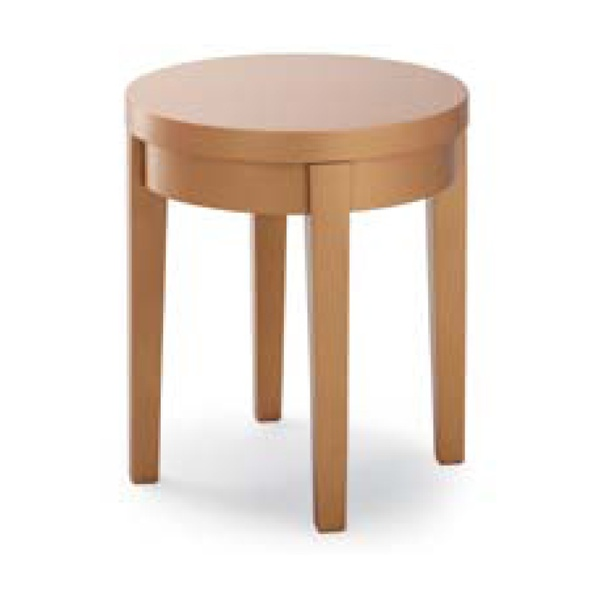 Mie Light Wood Round Table From Ultimate Contract Uk