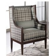 Miranda Patterned Upholstered Classic Chair