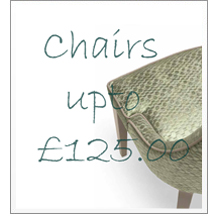 Chairs up to £125.00