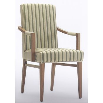 Moena Striped Armchair
