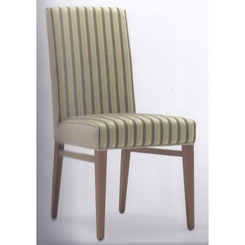 Moena Striped Side Chair