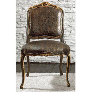 Monsieur Dark Upholstered Chair