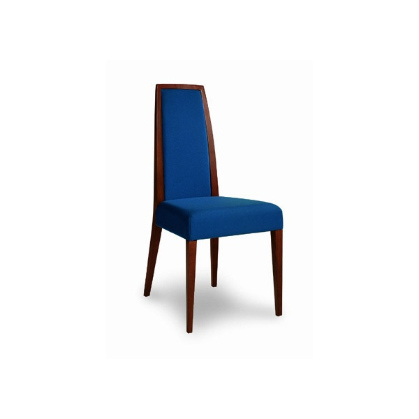 Montbel Collection Erminio Royal Blue Side Chair Montbel
