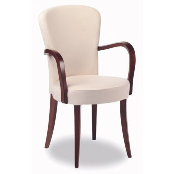 Montbel collection euforia cream armchair 00121 montbel - Chaise transparente avec accoudoir ...