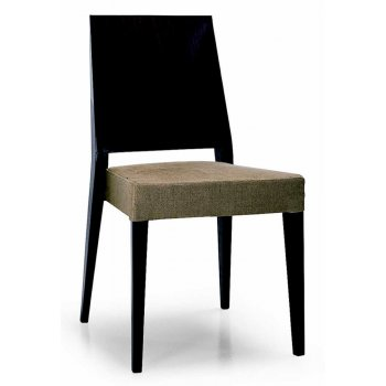Montbel Collection Timberly Cream Seat Dark Side Chair