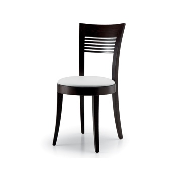 Montbel Collection Vienna White and Balck Side Chair 01312