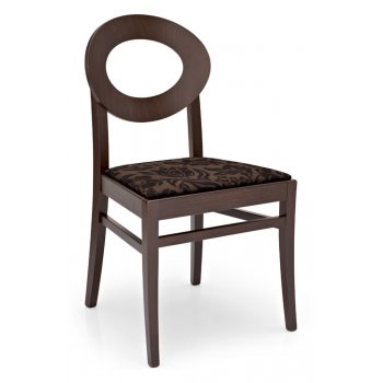Montmartre Retro Dark Wood Chair