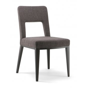 Monty Dark Wood Side Chair