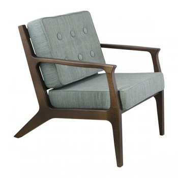 Morelia Dark Wood Armchair