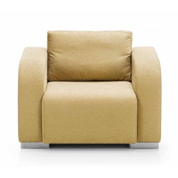 Nina Lether Upholstered Chair