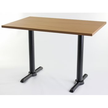 Oak Top Twin Table