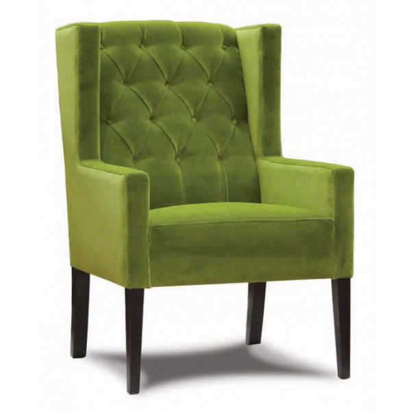 Opera Green Upholstered Chair from Ultimate Contract UK