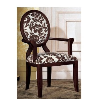 Oval Transitional Classic Chair
