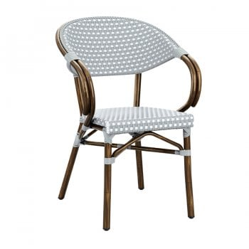 Paris Chair Vs3 Blue & White