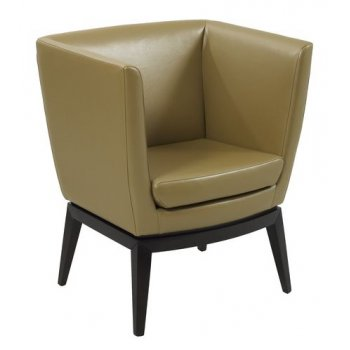 Pasha Dark Upholstered Chair