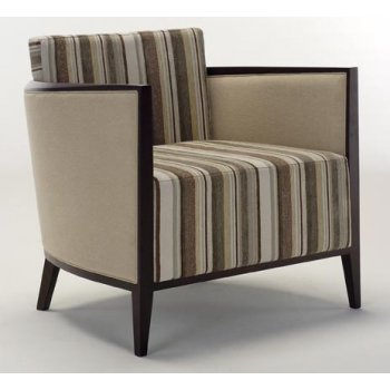 Patterned Upholstered Chair 201
