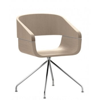 Pedrali Collection Apple Light Wood Armchair 762 PED