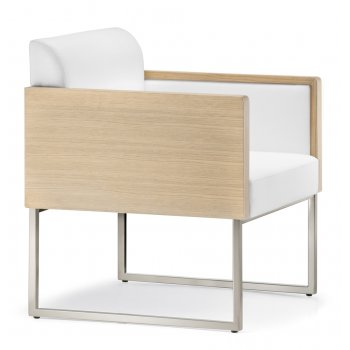 Pedrali Collection Box Light Wood Armchair 741 PED