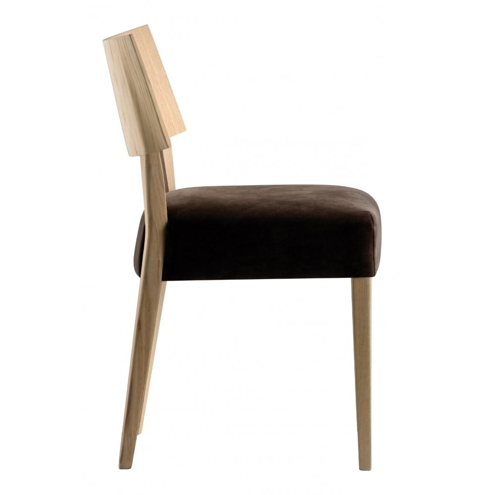 Pedrali Collection Elle Light Wood Side Chair 452 PED