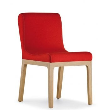Gilda Crimson Side Chair 755 PED