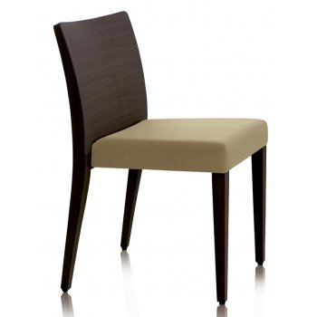 Pedrali Collection Glam Dark Wood Side Chair 431 PED