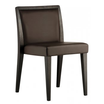 Pedrali Collection Glam Dark Wood Side Chair 435